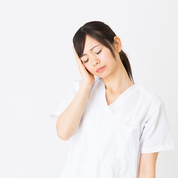 看護師の体調管理事情